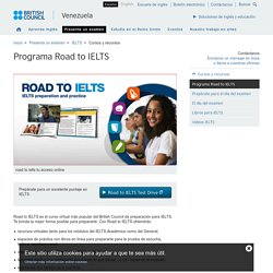 Programa Road to IELTS