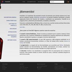 FreeCAD: Un Programa parametrico libre CAD modelador 3D