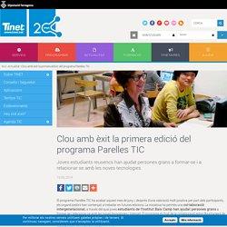 Clou amb èxit la primera edició del programa Parelles TIC