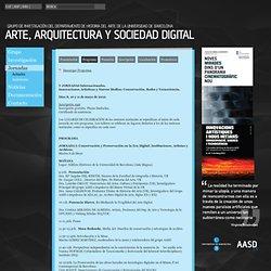 Programa: UB Arq&Art