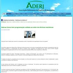 ADERJ - Sebrae Inova tem programação voltada ao setor de oficinas mecânicas