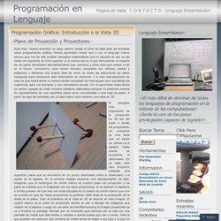 2011 noviembre « Programación en Lenguaje Ensamblador