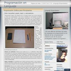 2011 septiembre « Programación en Lenguaje Ensamblador