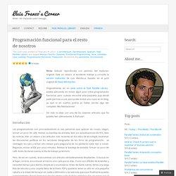 Programación funcional para el resto de nosotros « Lluis Franco's Corner
