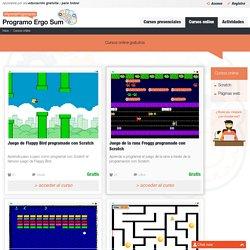 Cursos Online MOOC de programación informática.