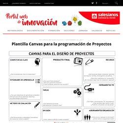 Plantilla Canvas para la programación de Proyectos ‹ Innovacion Salesianos