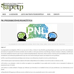 PNL (Programación neurolingüística) – APETP