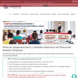 Programaciones y unidades didacticas para oposiciones de primaria y educación infantil - E-ducalia.com