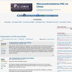 Programador de PICs para Piklab