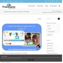 cuentos con Scratch Jr en infantil – Programamos