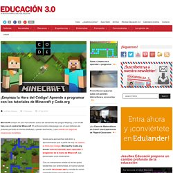 Minecraft, el último tutorial de Microsoft y Code.org para aprender a programar