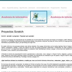 Programas Scratch - aNuTec Academia de Nuevas Tecnologías