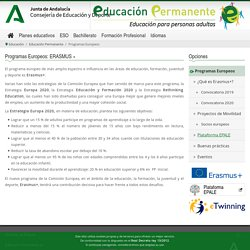 Programas Europeos - Consejería de Educación