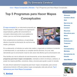 Top 5 Programas para Hacer Mapas Conceptuales