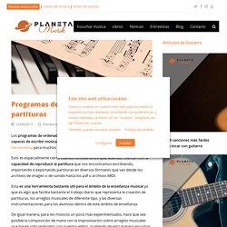 Programas de ordenador de edición de partituras - Planeta Musik