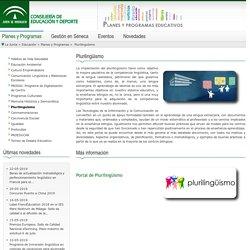 Planes y programas - Plurilinguïsmo - Consejería de Educación