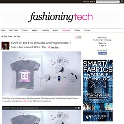 TshirtOS: The First Wearable and Programmable T
