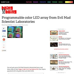 Programmable color LED array from Evil Mad Scientist Laboratories – Boing Boing