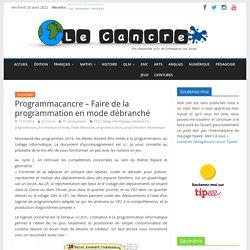 Programmacancre – Faire de la programmation en mode débranché – Le blog du Cancre