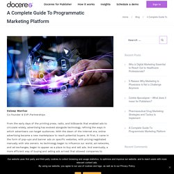 A Complete Guide To Programmatic Marketing Platform - Doceree