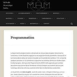 Programmation – La Méthode Heuristique de mathématiques