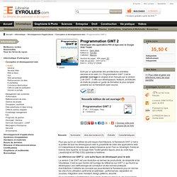 Livre Programmation GWT 2 - S. Jaber - Développer des applicatio