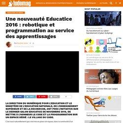 Une nouveauté Educatice 2016 : robotique et programmation au service des apprentissages – Ludovia Magazine