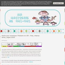 Programmation spiralaire en Histoire et frise chronologique