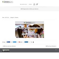 FLOT : Programmation en Python pour débutants