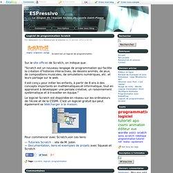 Logiciel de programmation Scratch - ESPressivo