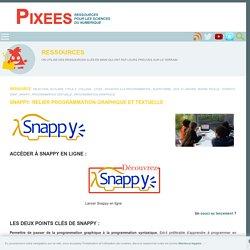 Snappy: relier programmation graphique et textuelle pour changer de scratch ?