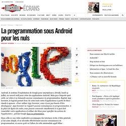 La programmation sous Android pour les nuls