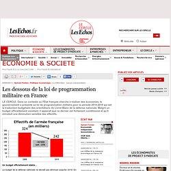 Les dessous de la loi de programmation militaire en France