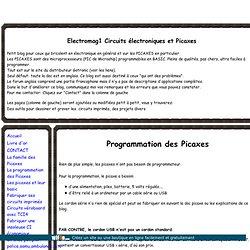 Programmation des Picaxes