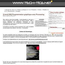 [Liens] [HS] Programmation graphique avec Processing