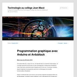 Programmation graphique avec Arduino et Ardublock