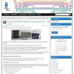 Tutorial: uLCD-32PT e Arduino come programmatore seriale - Mauro Alfieri Elettronica, Informatica, Robotica e Domotica