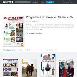 Cin'Hoche - Programme du 9 avril au 10 mai 2016