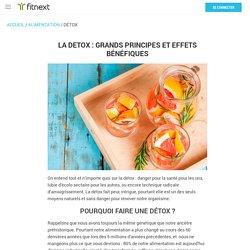 Programme de détox alimentaire avec la méthode Fitnext