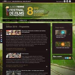 Edition 2014 - Programme
