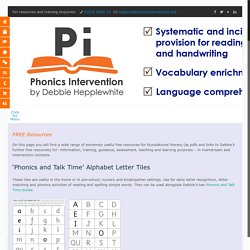 Phonics Programme and Alphabetic Code Charts - Free Resources