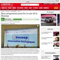 Beau programme pour les 10 ans de la Biocoop - 07/10/2014