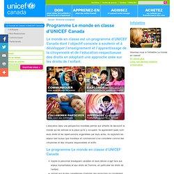 UNICEF le monde en classe : Accueil- Francais
