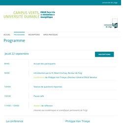 Programme - Conférence Engie