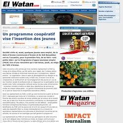 Un programme coopératif vise l'insertion des jeunes - Oran