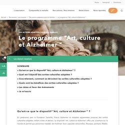 """Le programme """"Art, culture et Alzheimer """""""