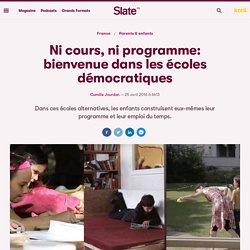 Ni cours, ni programme: bienvenue dans les écoles démocratiques