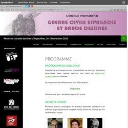 Musée de la bande dessinée d'Angoulême, 16-18 novembre 2016