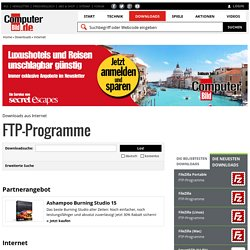 FTP-Programme - Downloads
