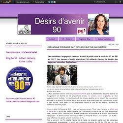 Le programme économique du PS est-il crédible? par Emilie Lévêque - Le blog de DA 90